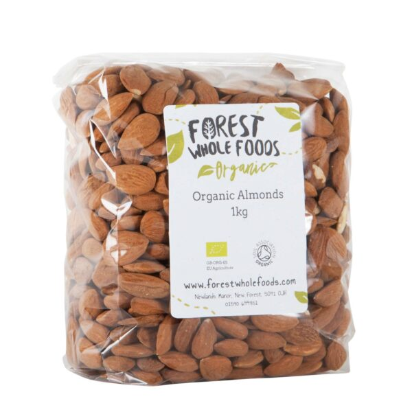 organic unblanched almonds 1kg